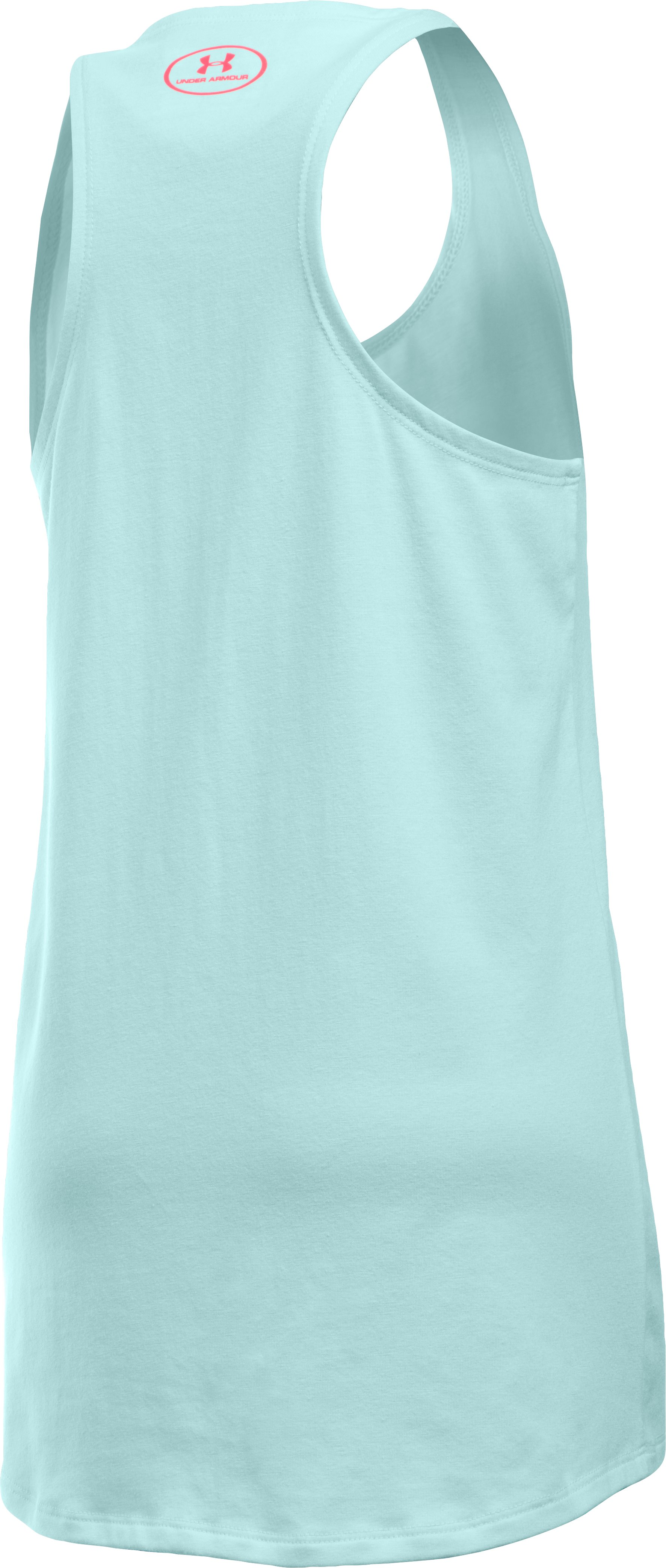 Girls' UA Do All Things With Heart Tank, AQUA FALLS, undefined