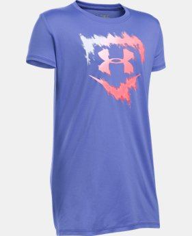 Best Seller Girls' UA Softball Logo T-Shirt LIMITED TIME: FREE SHIPPING 1 Color $22.99