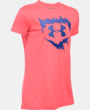 Best Seller Girls' UA Softball Logo T-Shirt  1 Color $22.99