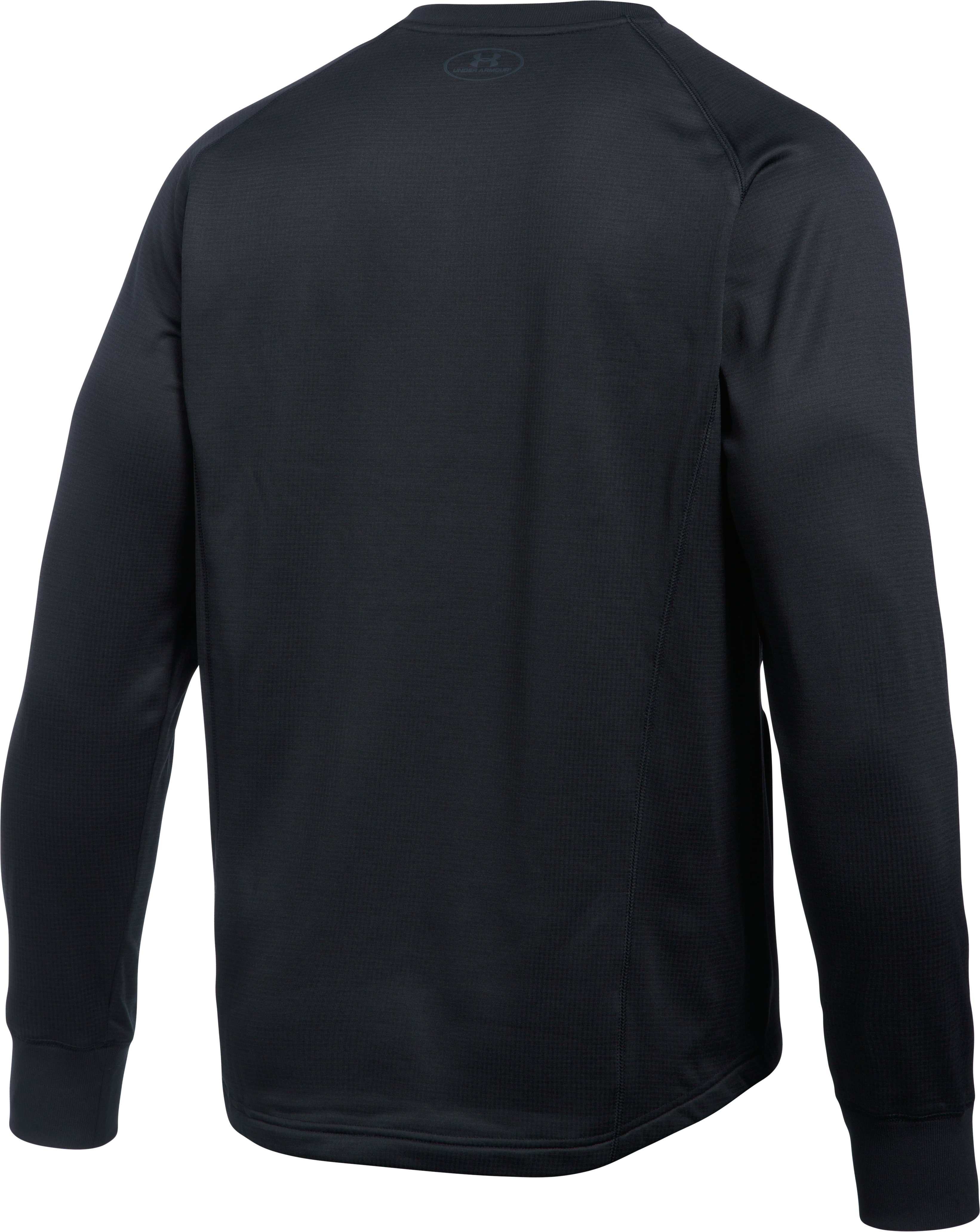 Men's UA Baseball Training Henley, Black , undefined