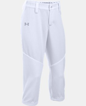 Girs' UA Base Runner Softball Pants LIMITED TIME: FREE U.S. SHIPPING  $24.99