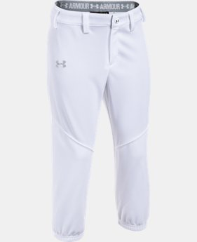 Girls' UA Base Runner Softball Pants   $29.99