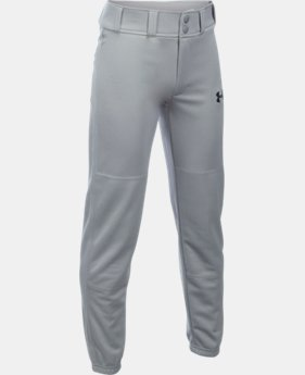 Boys' UA Clean Up Cuffed Baseball Pants  1  Color Available $19.99
