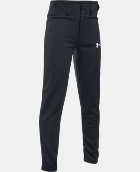 Boys' UA Clean Up Baseball Pants  1  Color Available $14.99