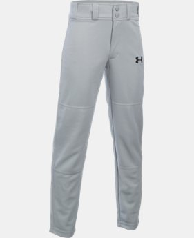 Boys' UA Clean Up Baseball Pants  3  Colors Available $22.99