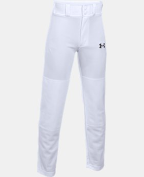 Best Seller Boys' UA Clean Up Baseball Pants  1  Color Available $19.99