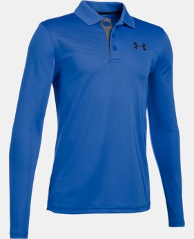 New Arrival Boys' UA Graphic Long Sleeve Polo  1 Color $39.99
