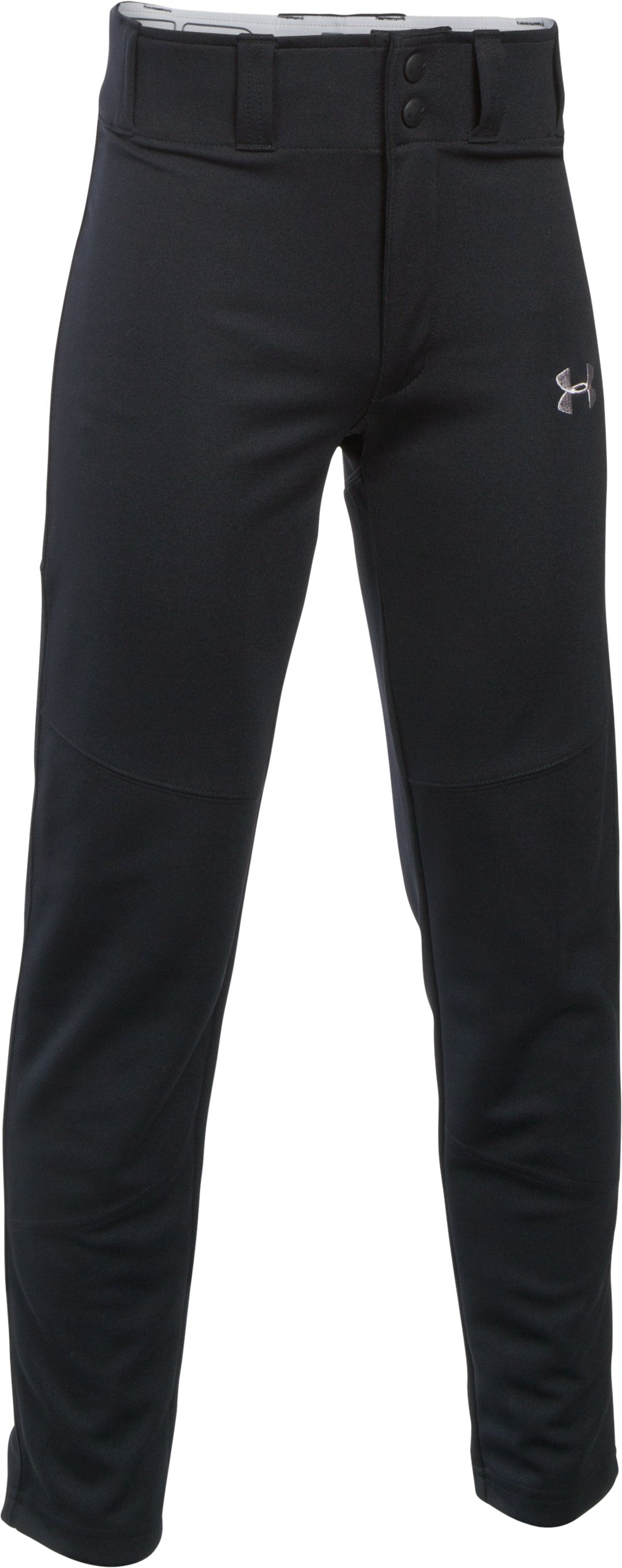 Boys' UA Lead Off Baseball Pants, Black