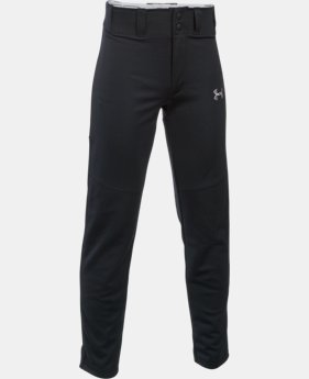 Best Seller Boys' UA Lead Off Baseball Pants  1  Color Available $34.99
