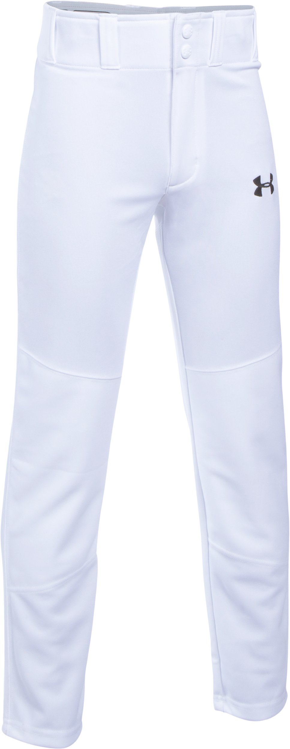 Boys' UA Lead Off Baseball Pants, White,