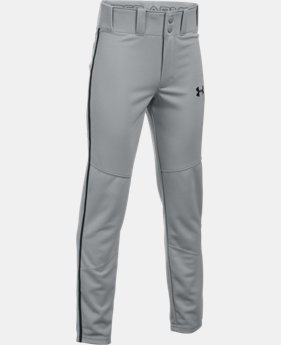 Boys' UA Heater Piped Baseball Pants  4 Colors $17.5 to $26.99