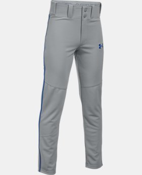 Boys' UA Heater Piped Baseball Pants  4 Colors $29.99