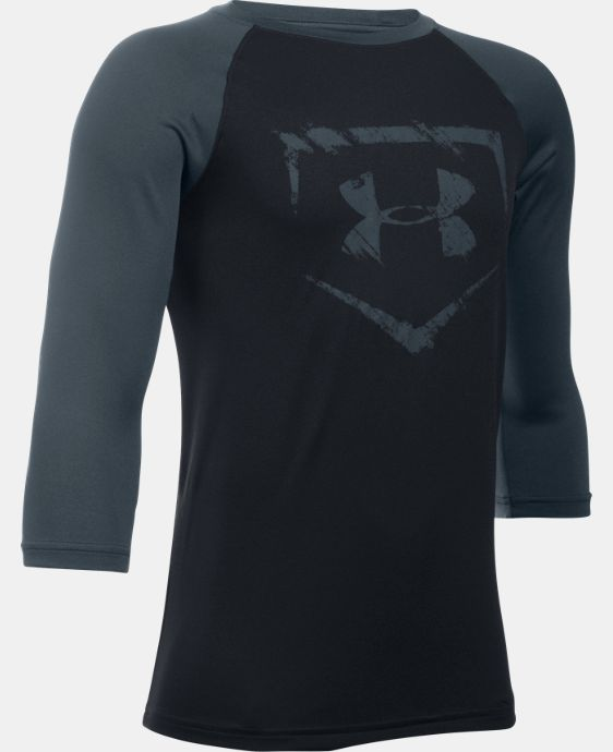 New Arrival  Boys' UA Baseball ¾ Sleeve  2 Colors $29.99