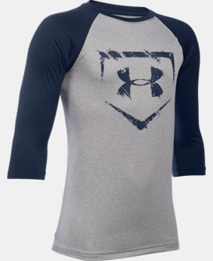 Boys' UA Baseball ¾ Sleeve   $24.99