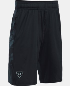 New Arrival Boys' UA Baseball Shorts  1 Color $29.99