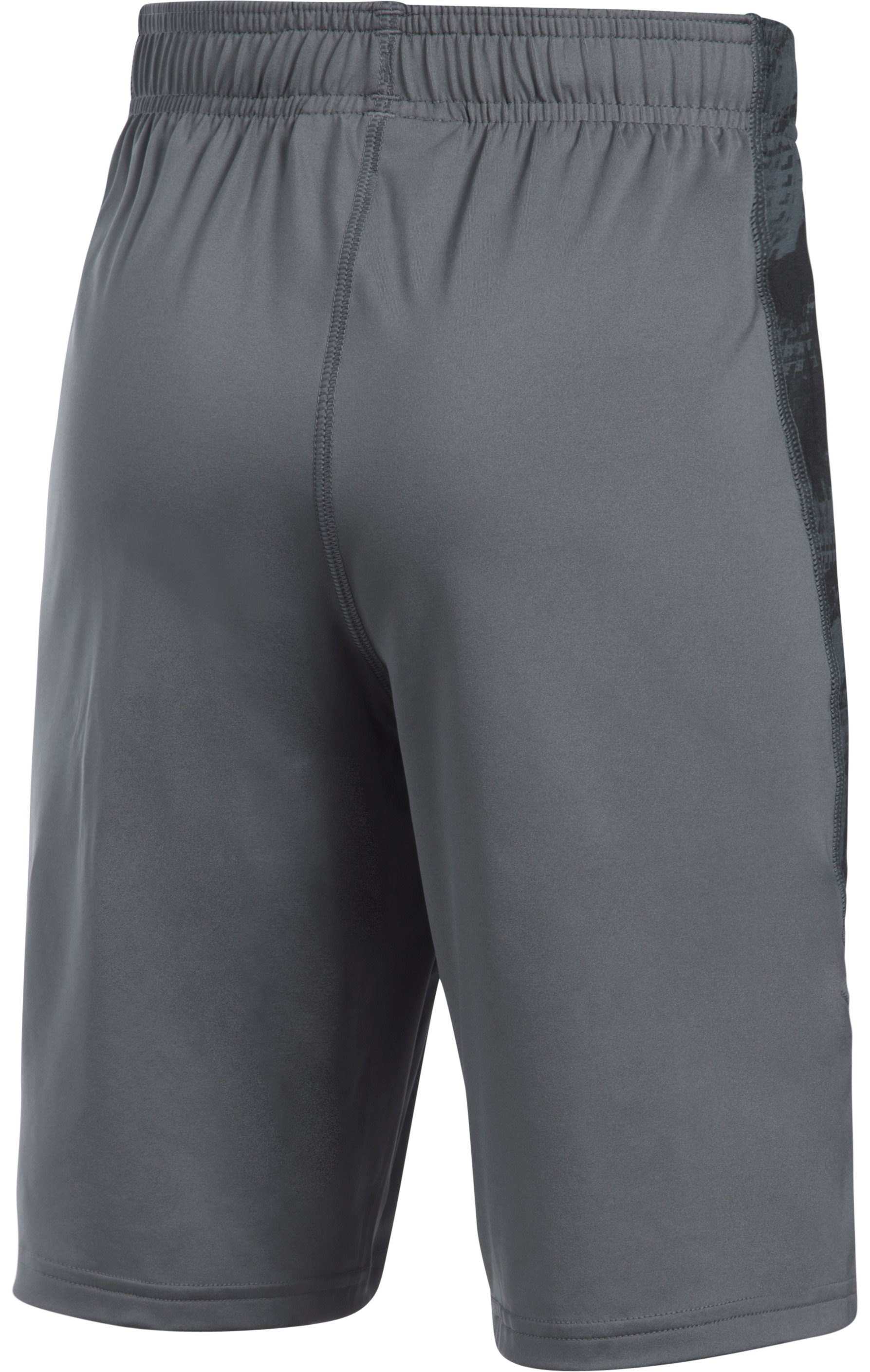 Boys' UA Baseball Shorts, Graphite,