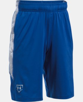 Boys' UA Baseball Shorts LIMITED TIME: FREE U.S. SHIPPING 1 Color $29.99