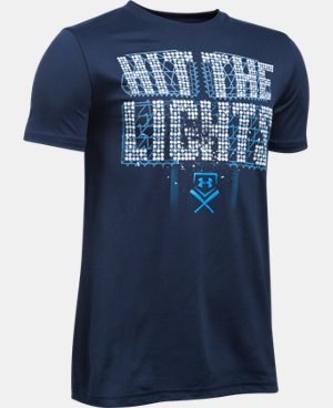 New Arrival Boys' UA Hit The Lights T-Shirt LIMITED TIME: FREE U.S. SHIPPING 1 Color $19.99