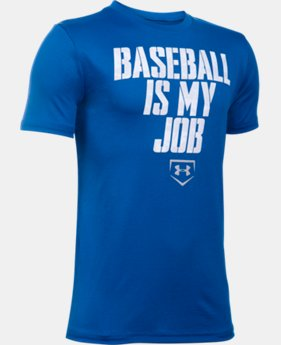 Boys' UA Baseball Is My Job T-Shirt  1 Color $19.99