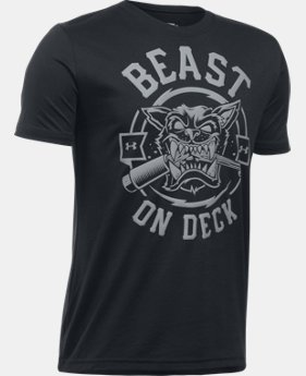 Boys' UA Beast On Deck T-Shirt LIMITED TIME: FREE U.S. SHIPPING  $19.99