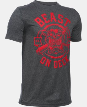 Boys' UA Beast On Deck T-Shirt LIMITED TIME: FREE U.S. SHIPPING 1 Color $19.99