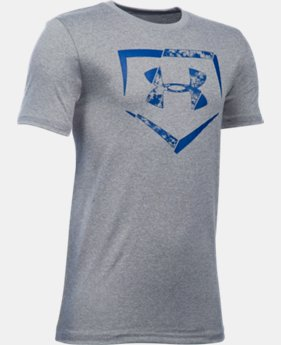 New Arrival Boys' UA Diamond Logo T-Shirt LIMITED TIME: FREE SHIPPING  $19.99