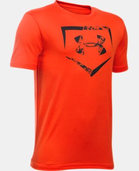 New Arrival Boys' UA Diamond Logo T-Shirt LIMITED TIME: FREE SHIPPING 2 Colors $19.99