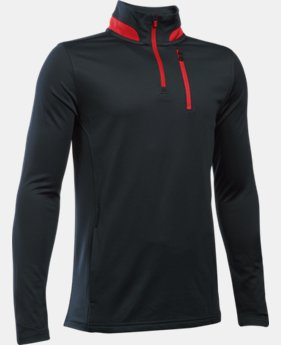 New Arrival  Boys' UA Golf 1/4 Zip LIMITED TIME: FREE SHIPPING 1 Color $44.99