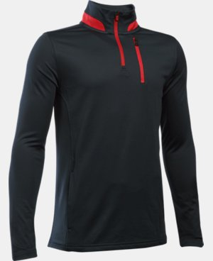New Arrival  Boys' UA Golf 1/4 Zip  1 Color $44.99