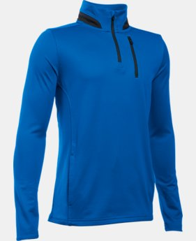Boys' UA Golf 1/4 Zip LIMITED TIME: FREE U.S. SHIPPING 1 Color $28.49 to $37.99