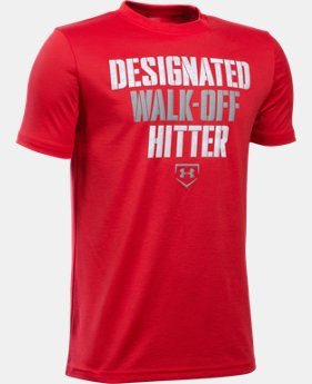 Boys' UA Designated Hitter T-Shirt LIMITED TIME: FREE U.S. SHIPPING 2 Colors $19.99