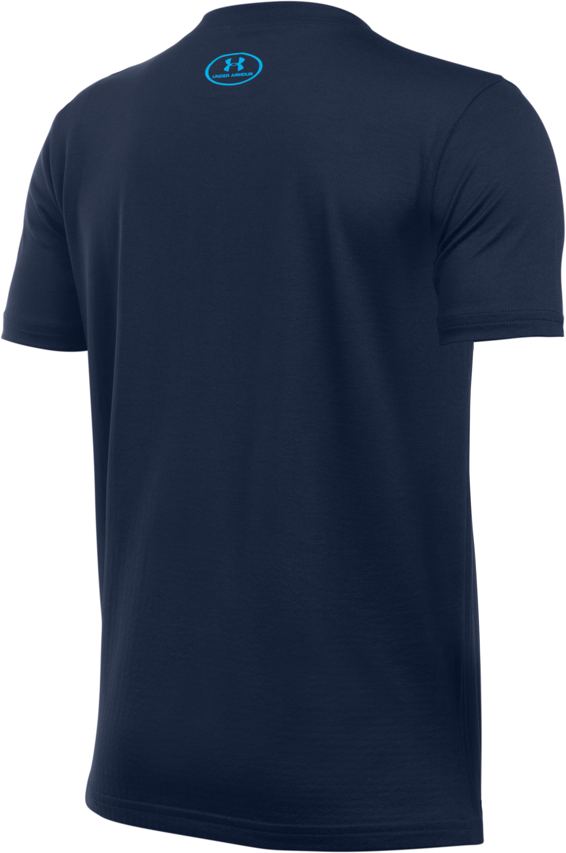 Boys' UA Swing Run Turn T-Shirt, Midnight Navy,