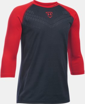 New Arrival Boys' UA Undeniable ¾ Sleeve T-Shirt LIMITED TIME: FREE U.S. SHIPPING 1 Color $29.99