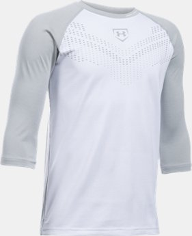Boys' UA Undeniable ¾ Sleeve T-Shirt   $29.99