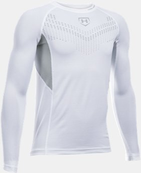 Boys' UA Undeniable Baseball Long Sleeve  1 Color $21.99
