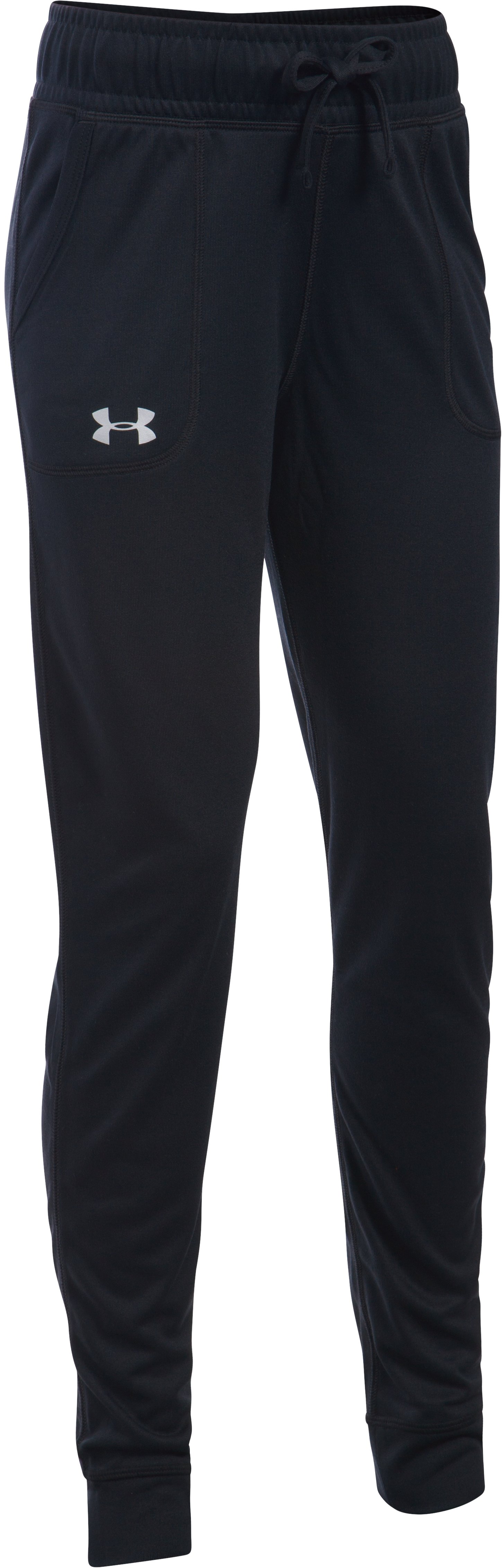 Girls' UA Tech™ Pant, Black , undefined