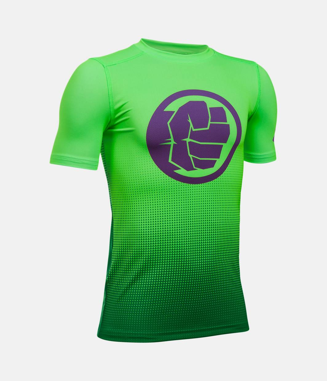 Boys 39 Under Armour Alter Ego Marvel Fitted Baselayer