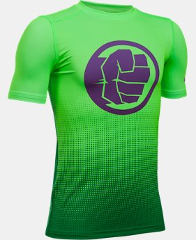 Boys' Under Armour® Alter Ego Marvel Fitted Baselayer  1  Color Available $26.99