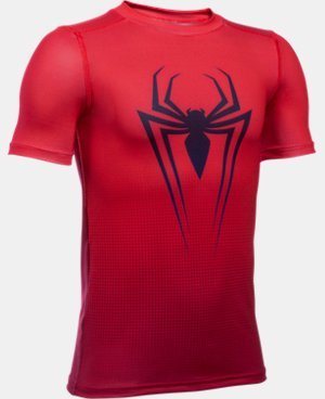 New Arrival Boys' Under Armour® Alter Ego Marvel Fitted Baselayer  1 Color $34.99