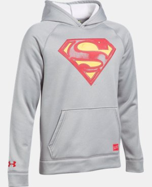 New Arrival Boys' Under Armour® Alter Ego Superman Hoodie   $59.99
