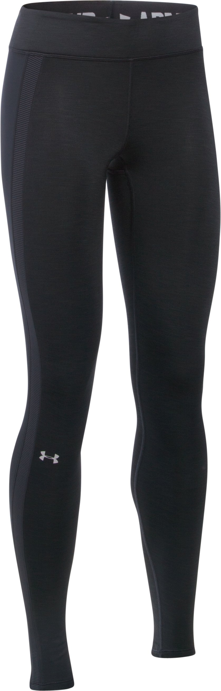 Women's UA ColdGear® Leggings, Black ,