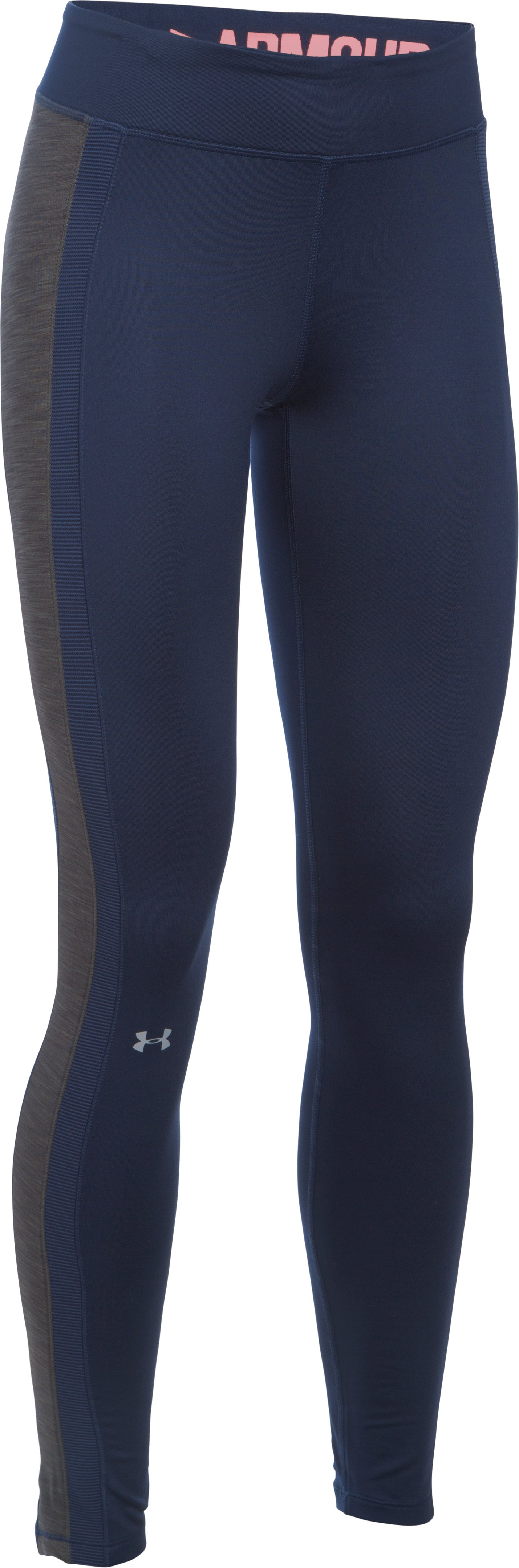 Women's UA ColdGear® Leggings, Midnight Navy