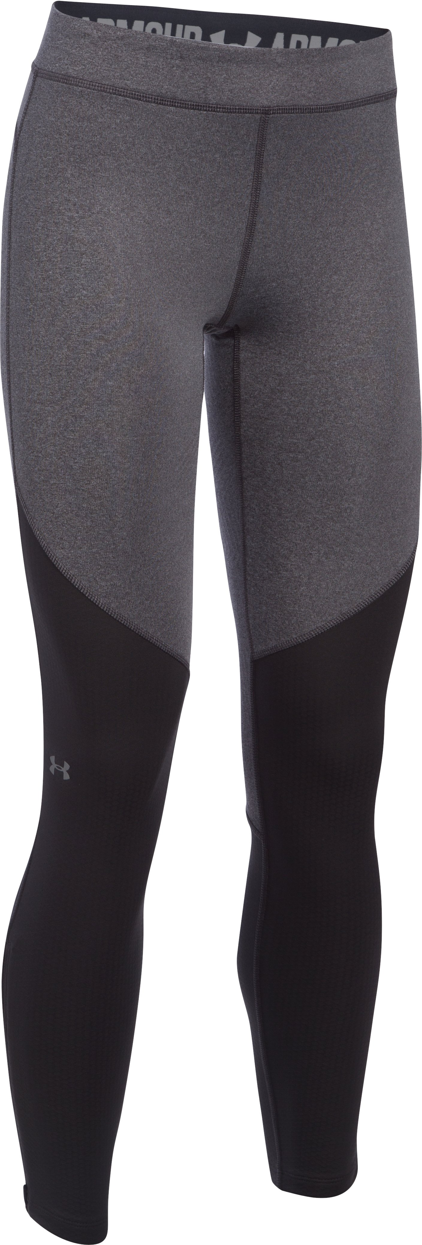 Women's UA ColdGear® Elements Legging, Carbon Heather
