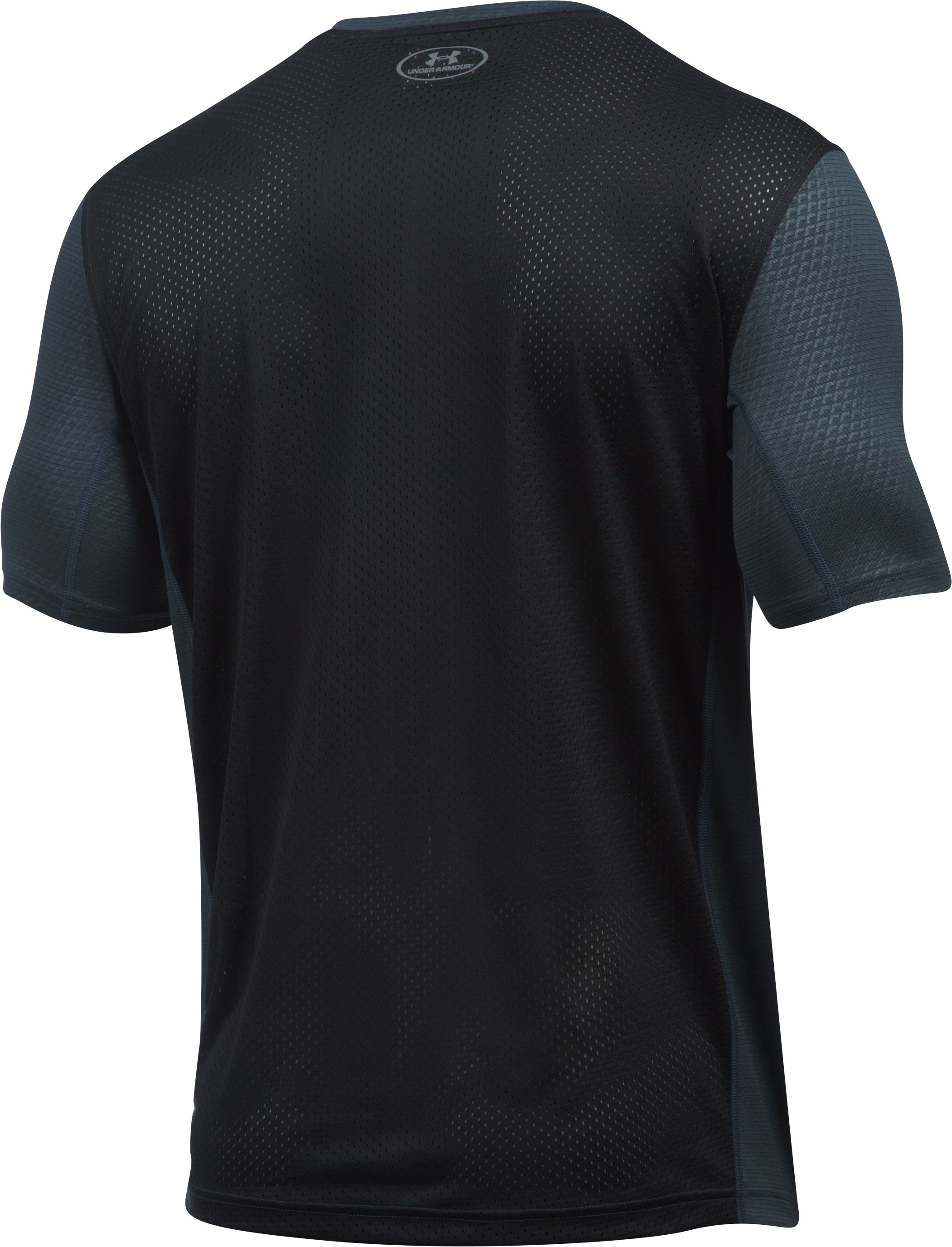 Men's UA Raid Turbo Short Sleeve T-Shirt , STEALTH GRAY, undefined