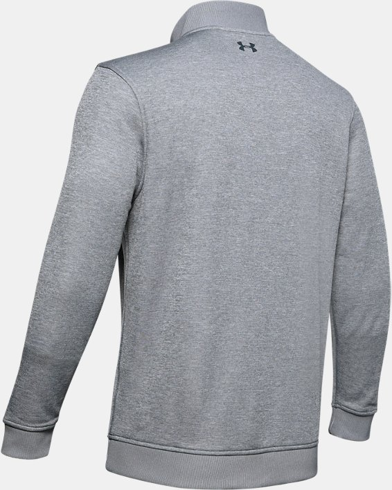Men's UA Storm SweaterFleece ¼ Zip, Gray, pdpMainDesktop image number 6