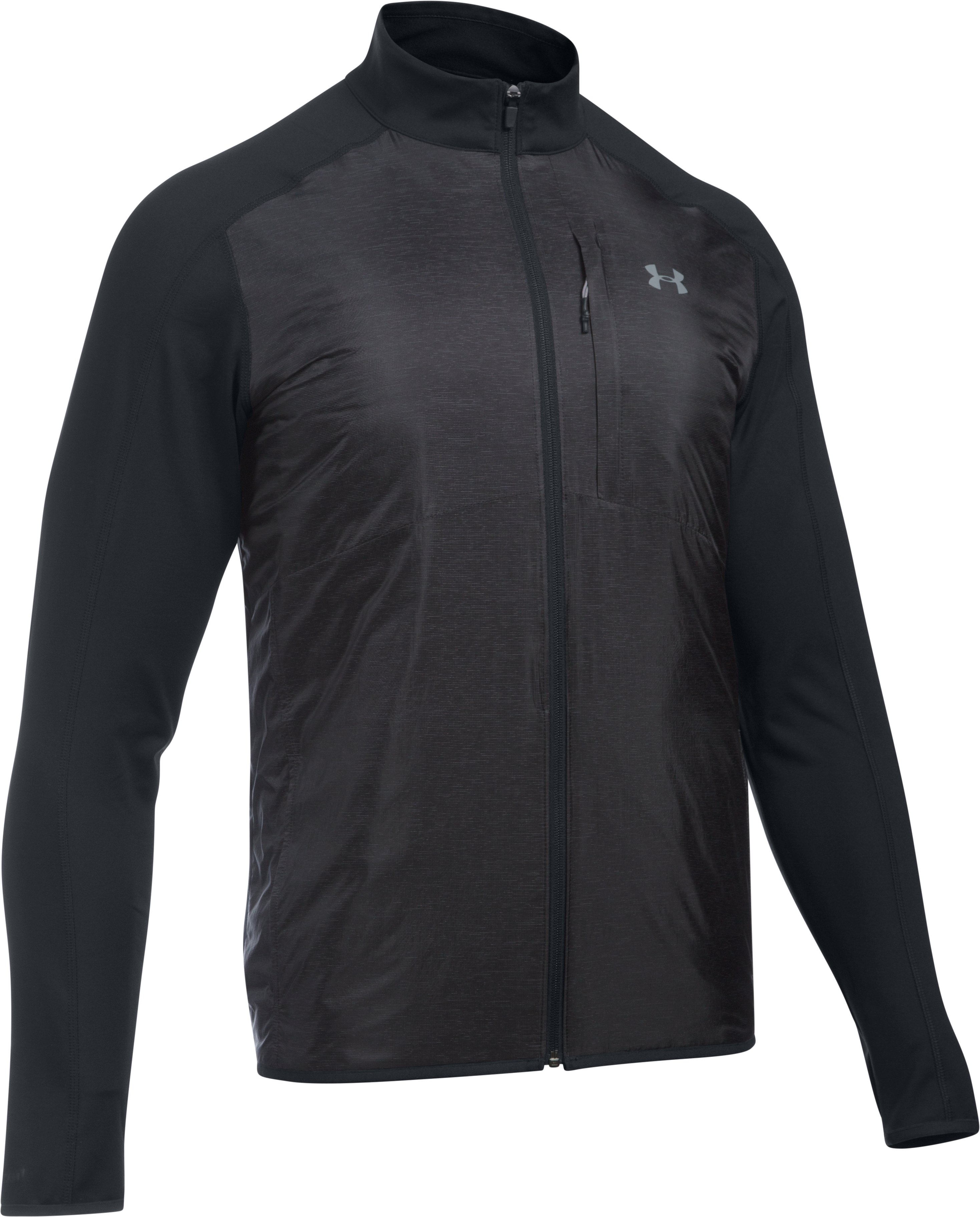 Men's UA Storm ColdGear® Infrared Insulated Jacket, Asphalt Heather, undefined