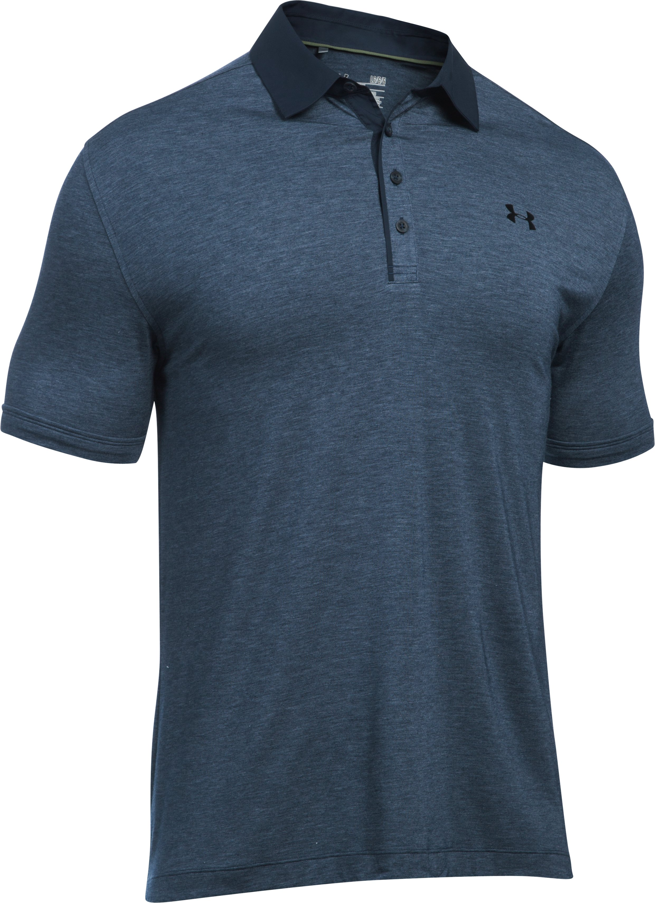 Men's UA Tips Polo, Academy, undefined