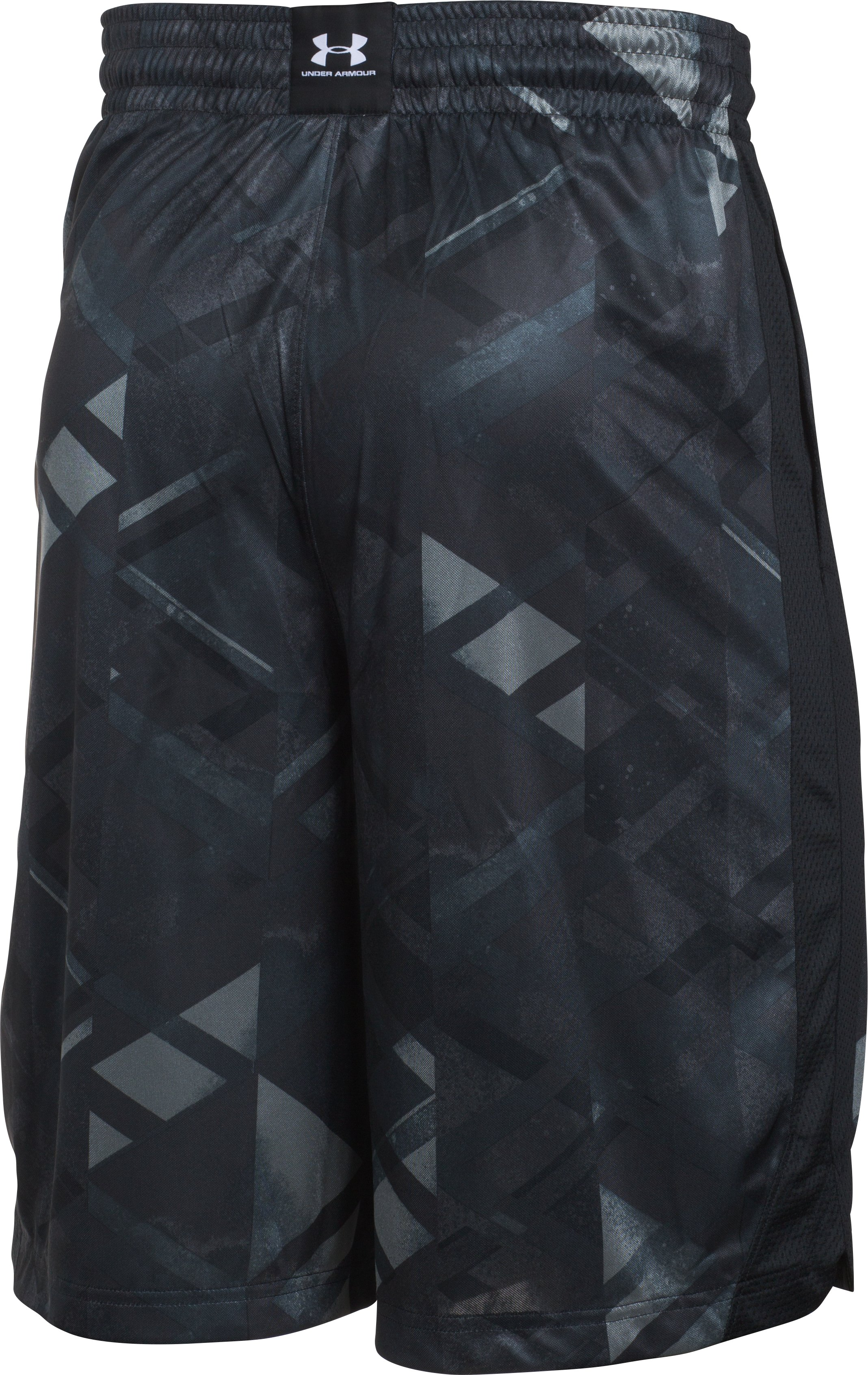 Men's UA TriAngle O Printed Shorts, Black