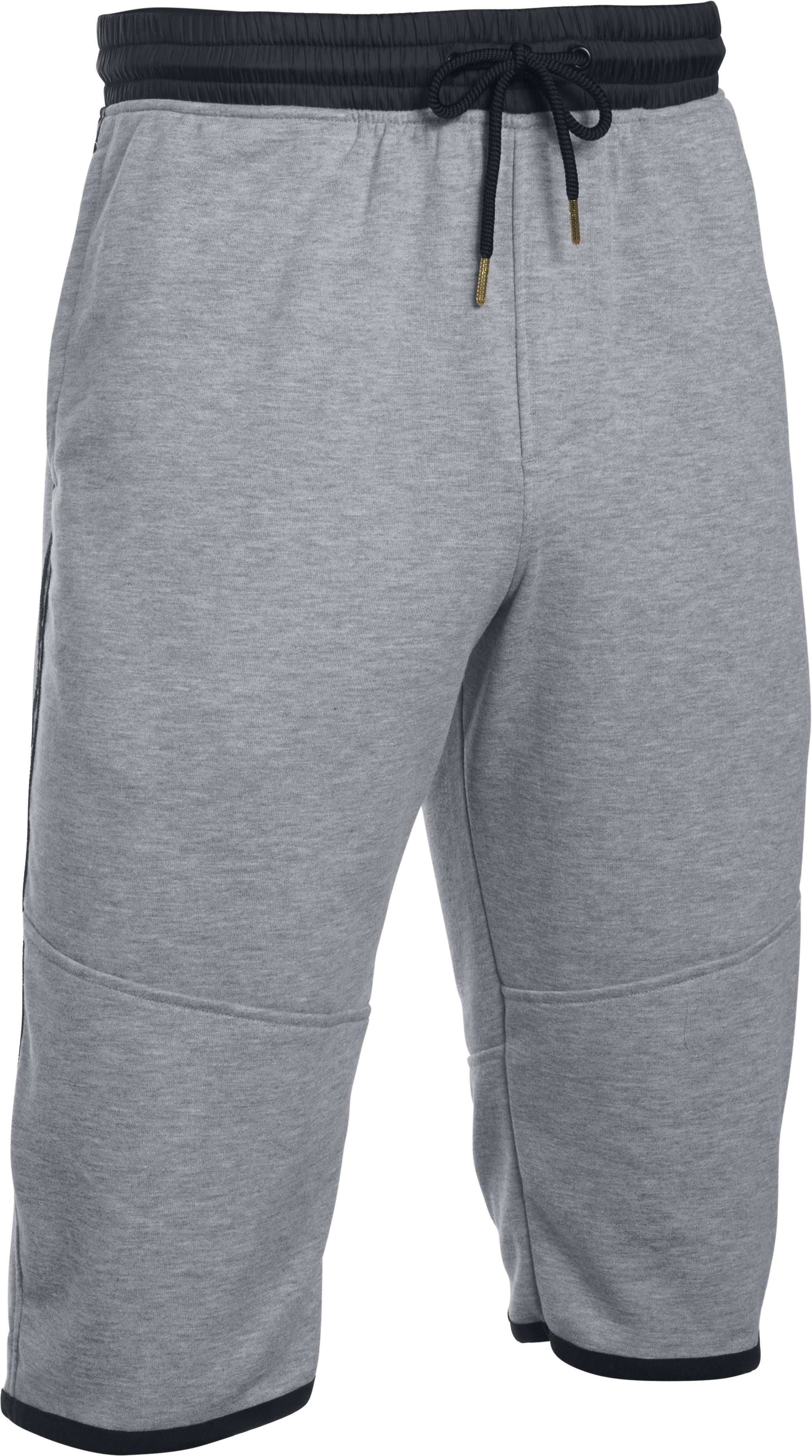 Men's UA Pursuit ½ Pants, True Gray Heather, undefined