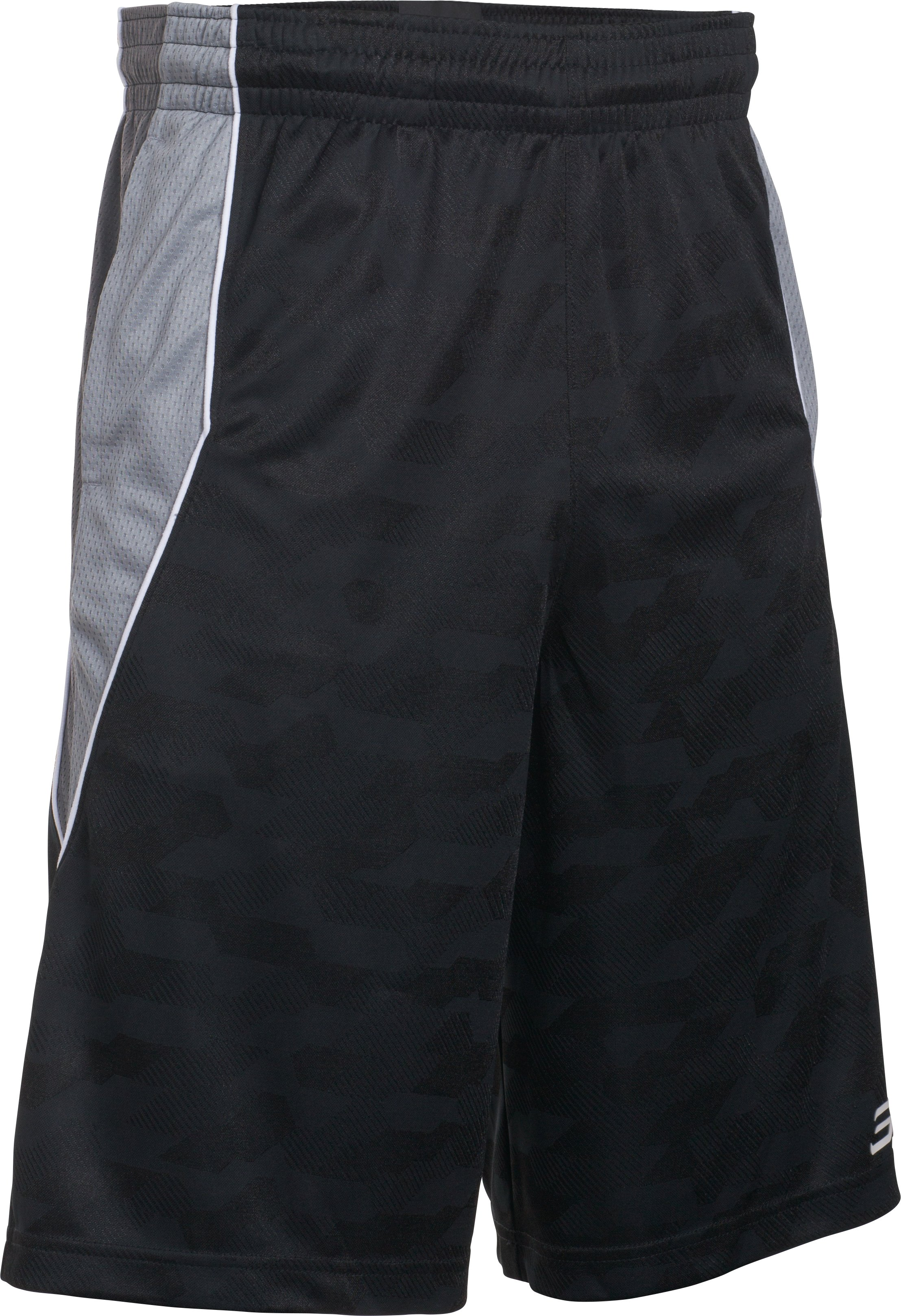 Men's SC30 Warrior Spear Shorts, Black ,